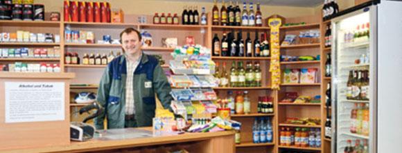 Hügelland AG Tankstelle mit Shop