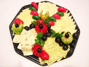 Käseplatte Plattenservice