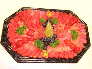 Wurstplatte Plattenservice